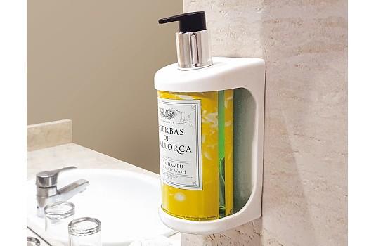 dosificador dispensador de pared para gel de baño y ducha & champú para la hostelería
